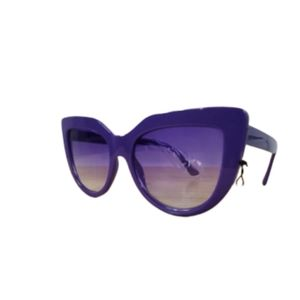 CAT EYE SUNGLASSES.    PURPLE  BRAND NEW WITH TAGS
